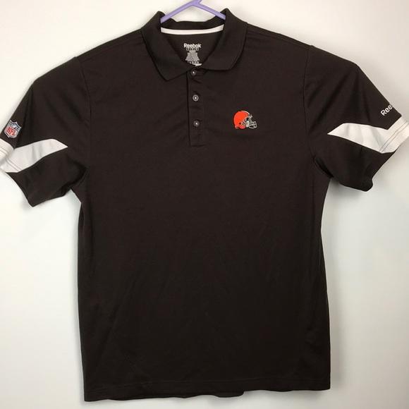 cleveland browns golf shirt